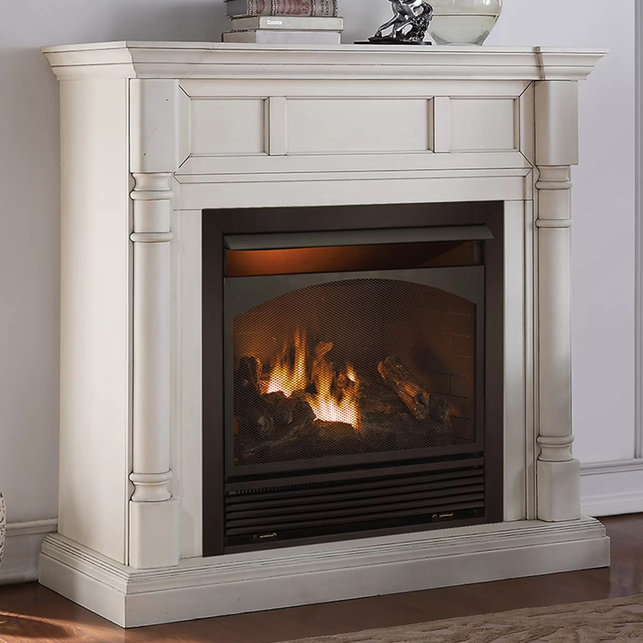 How Does A Vent Free Gas Fireplace Work Vent Free Natural Gas Propane Fireplace