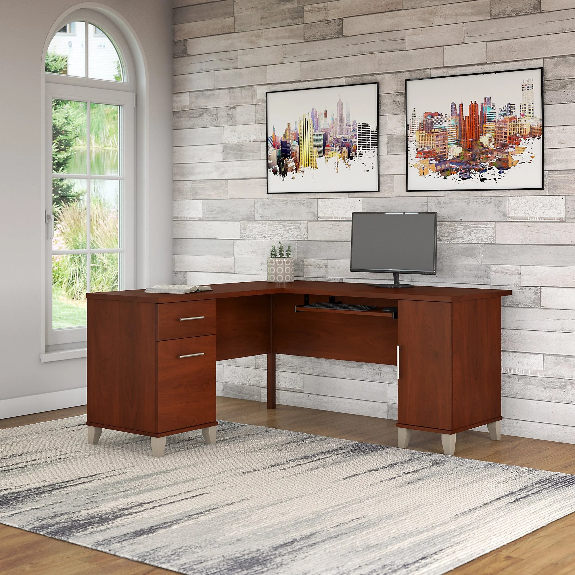 Executive L Shaped Desk Chase L Shape Executive Desk