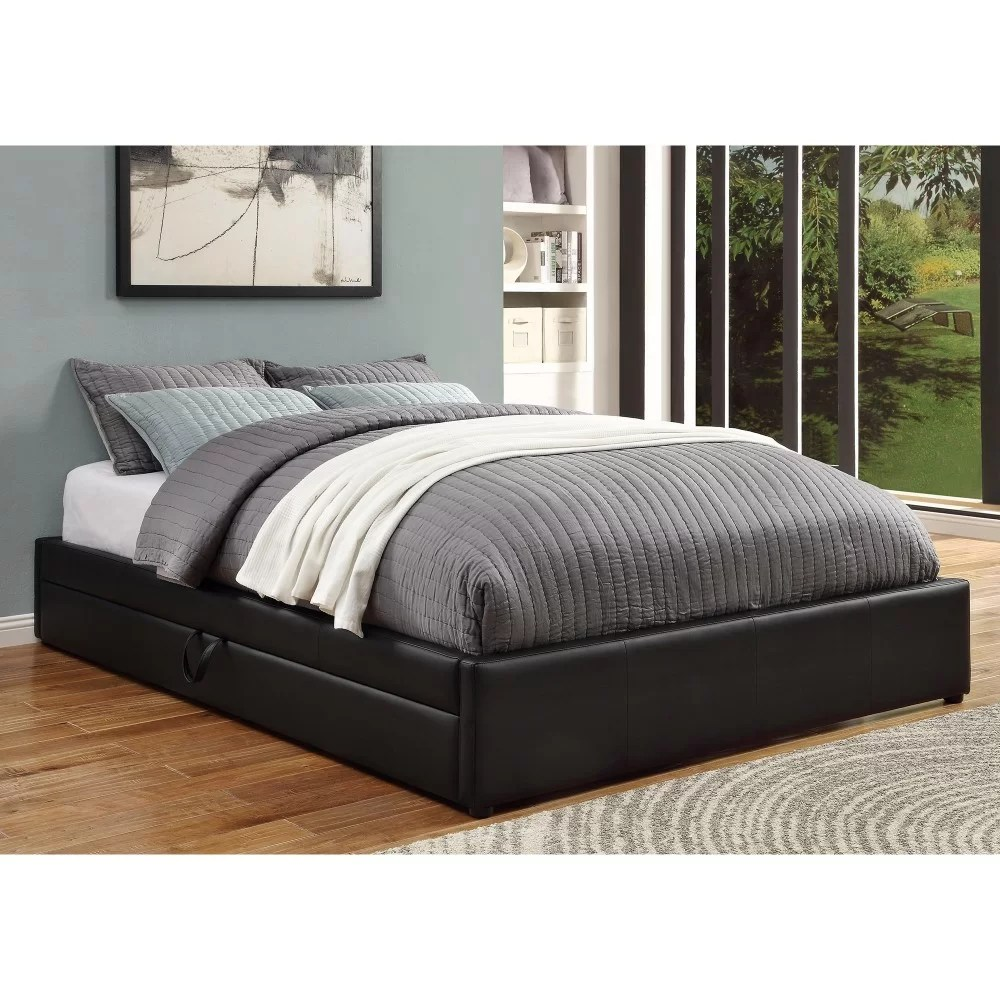 Is A Platform Bed Comfortable Waite Stylish And Comfortable Queen Upholstered Platform Bed