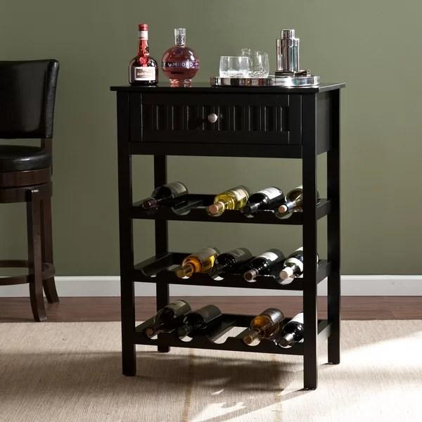 Darby Home Co Raabe 15 Bottle Floor Wine Rack Reviews
