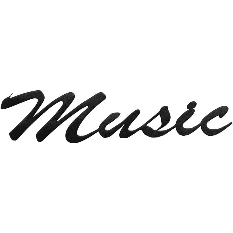 7055 Inc Music Word Wall Décor Wayfairca