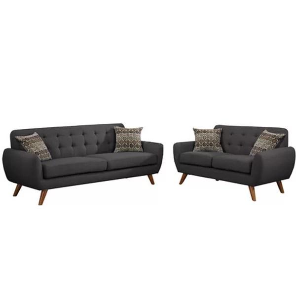 Modern Black Living Room Sets AllModern - black living room sets