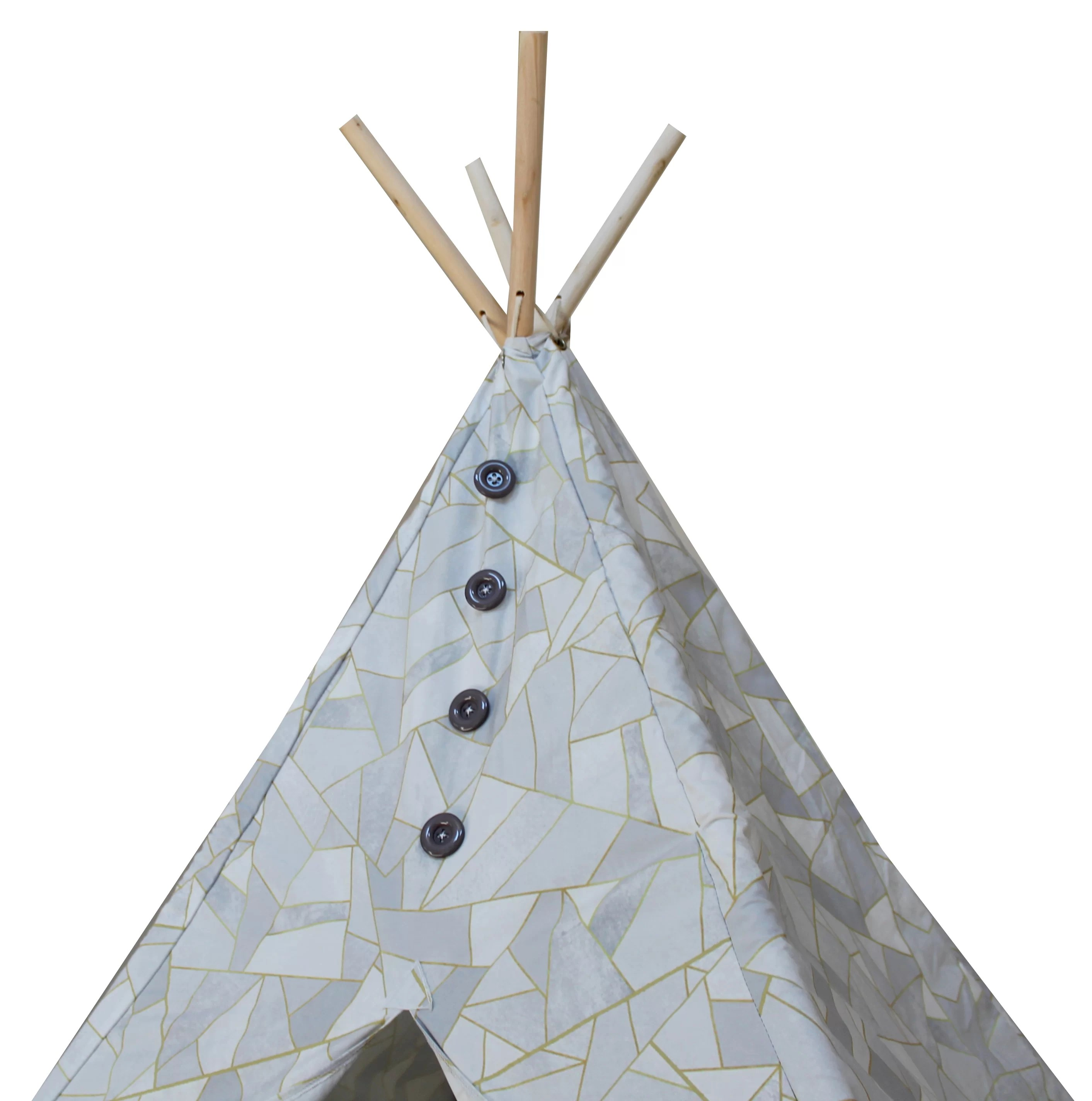 Teepee Kids Geometric Boho Chic Kids Play Teepee With Carrying Bag