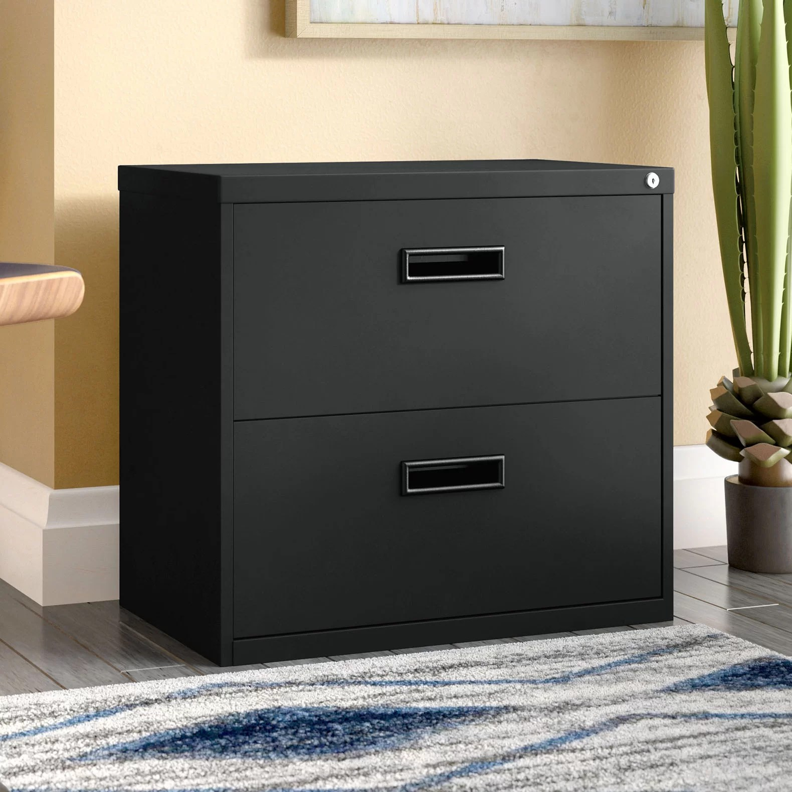Filing Cabinet Insert Walt 2 Drawer Lateral Filing Cabinet