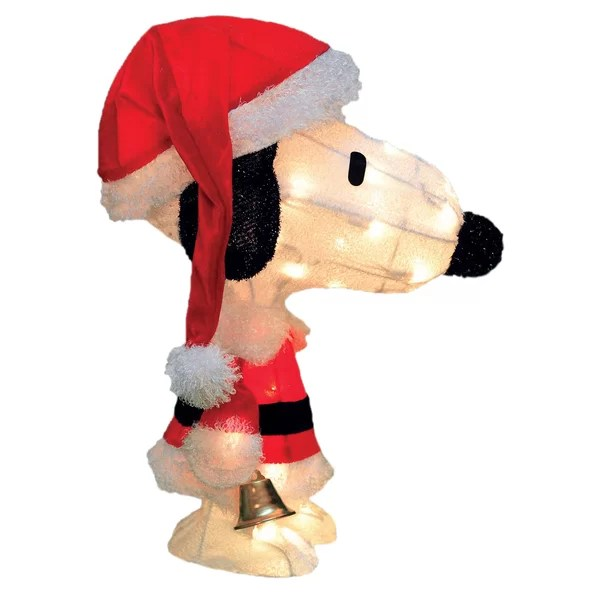... Product Works Outdoor Holiday Decorations Youu0027ll Love Wayfair    Peanuts Outdoor Christmas Decorations ...