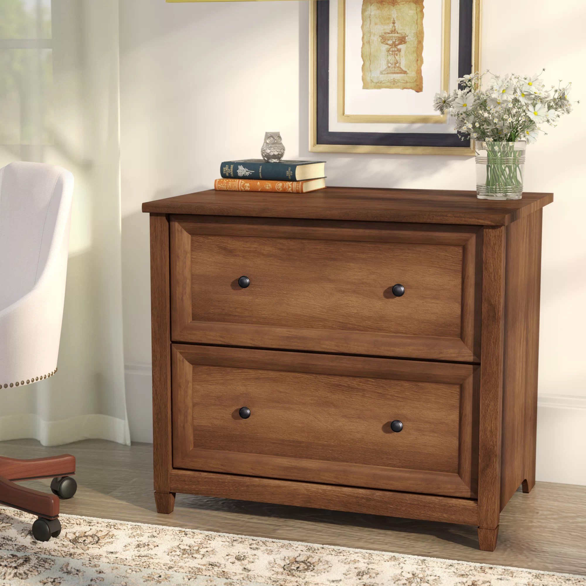 Cabinet Drawers Lamantia 2 Drawer Lateral Filing Cabinet