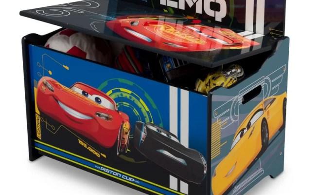 Delta Children Disney Pixar Cars Deluxe Toy Box Reviews