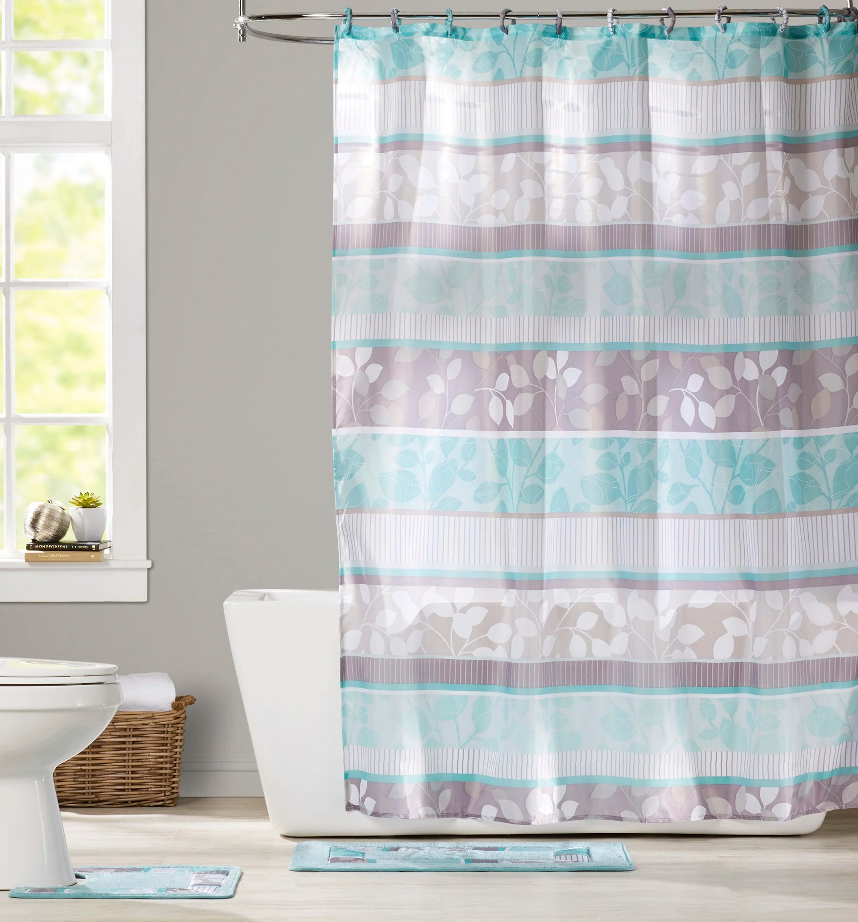 Shower Curtains For Less Goldston Bath Set