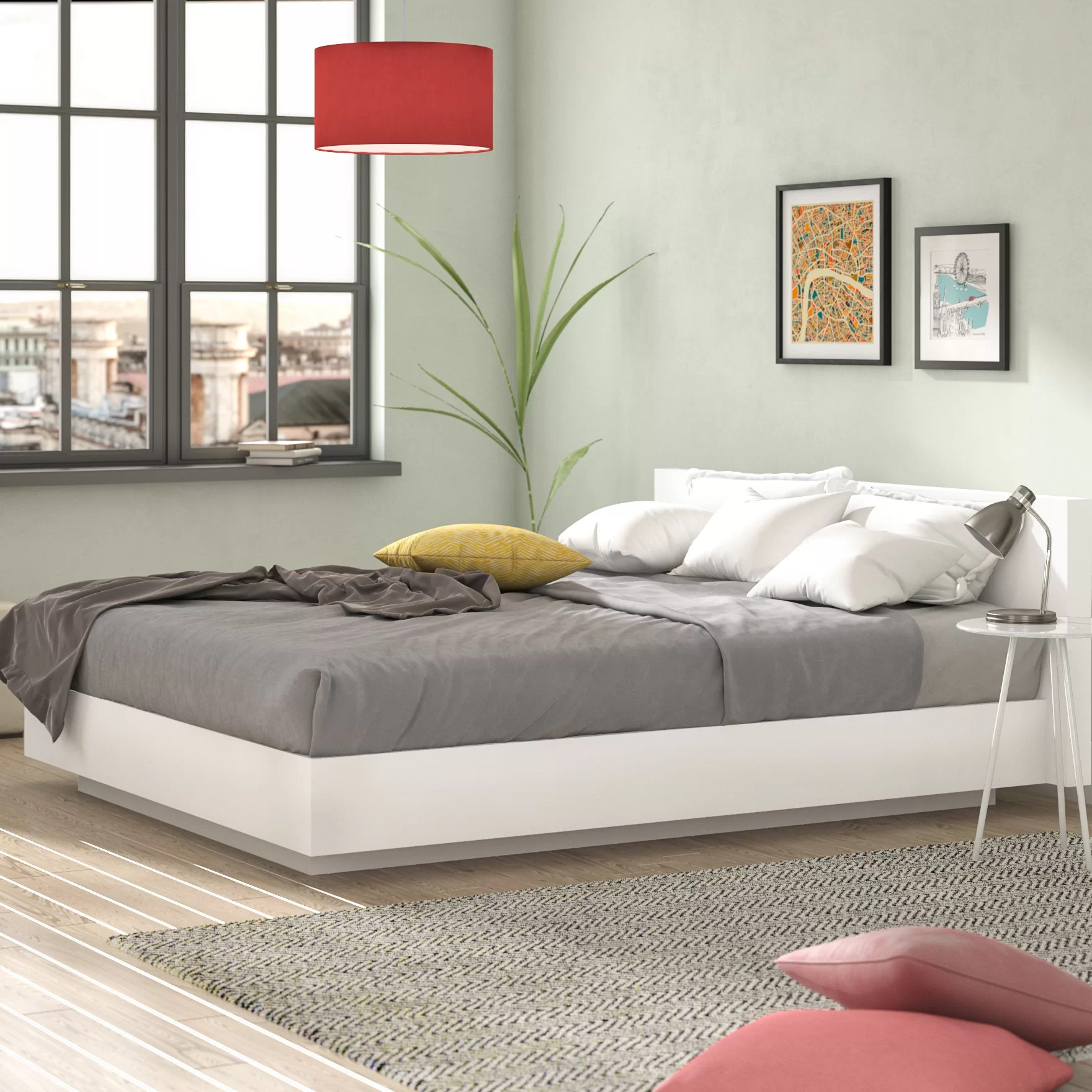 How Big Is A Super King Bed Gerald Super King 6 Size Platform Bed Frame