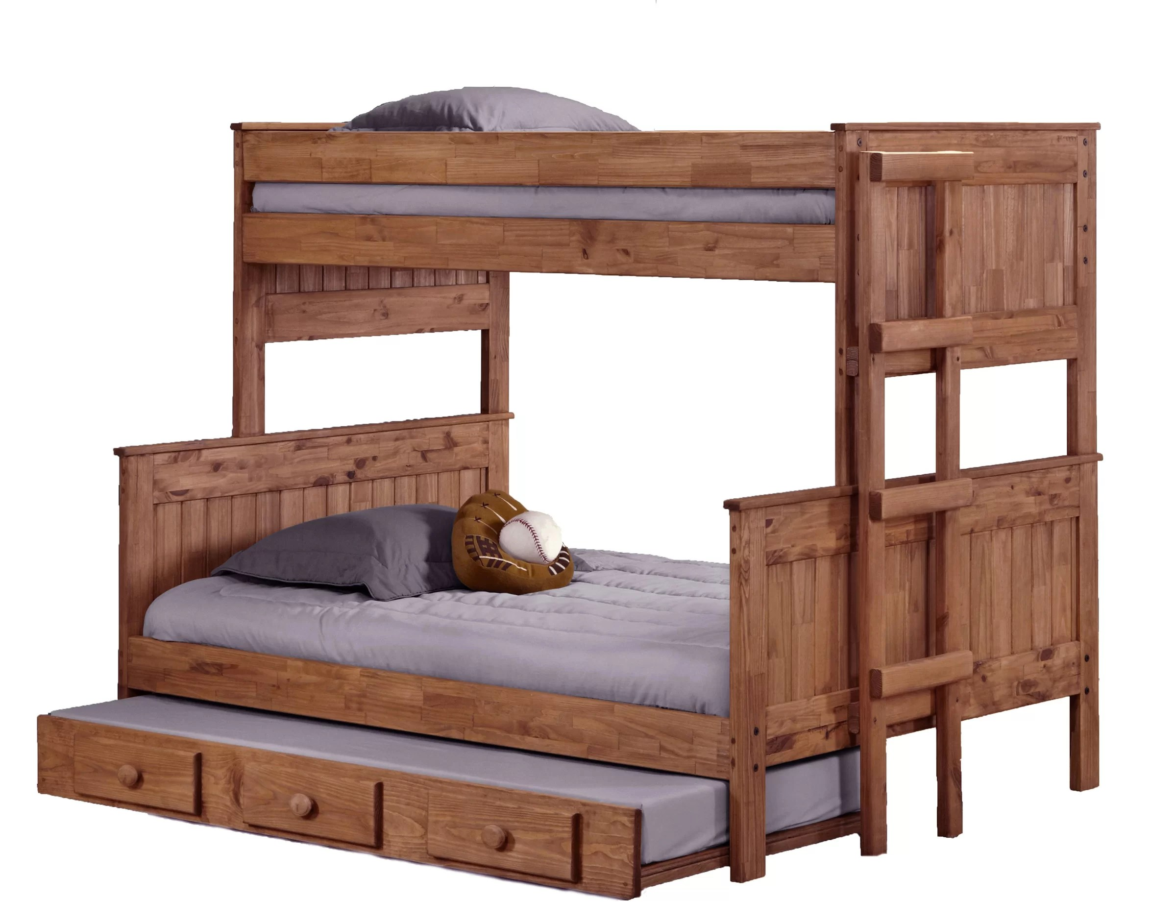 Stackable Twin Beds Choquette Stackable Twin Over Full Bunk Bed With Trundle