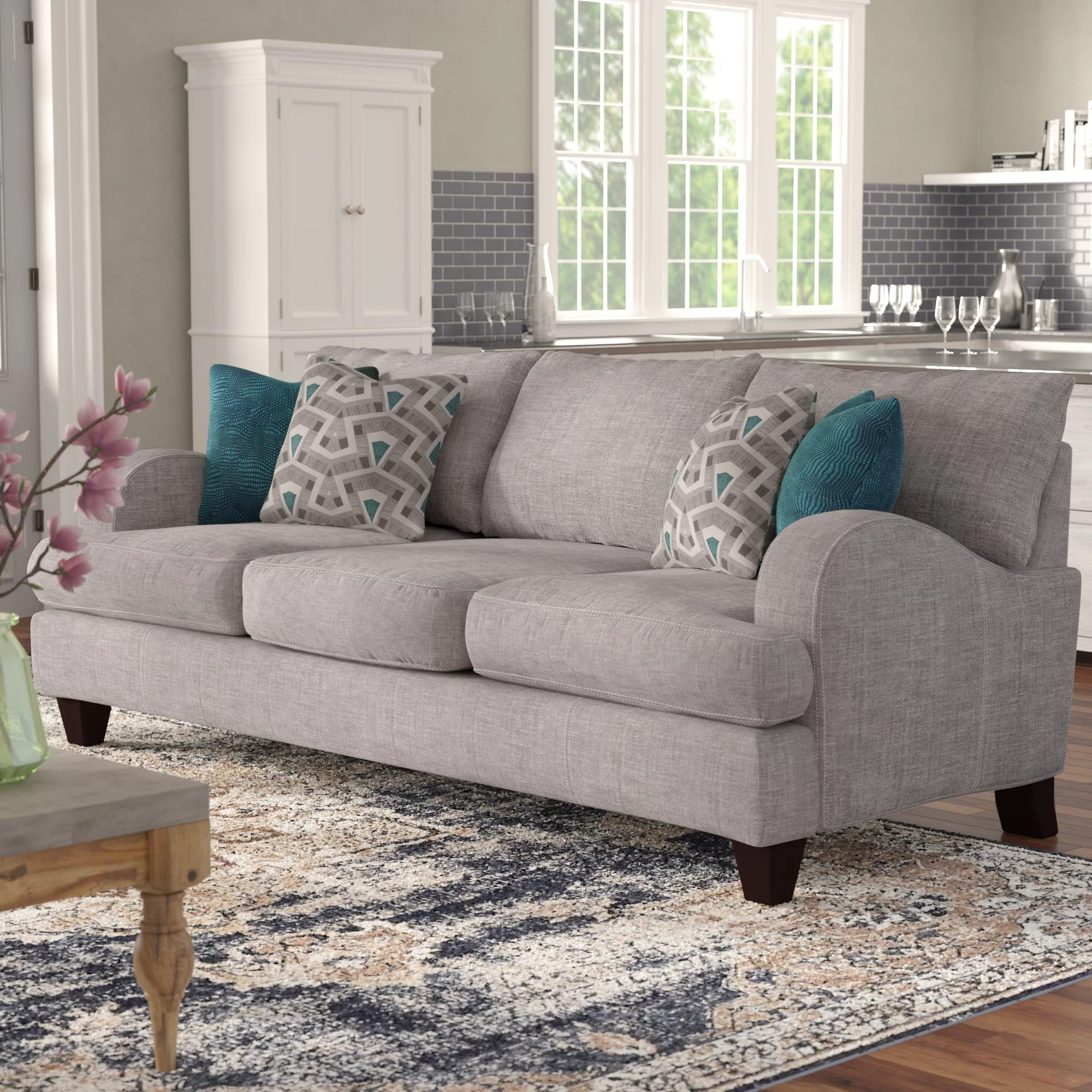 Sofa Entertainment Group Llc Laurel Foundry Modern Farmhouse Rosalie Sofa Reviews Wayfair