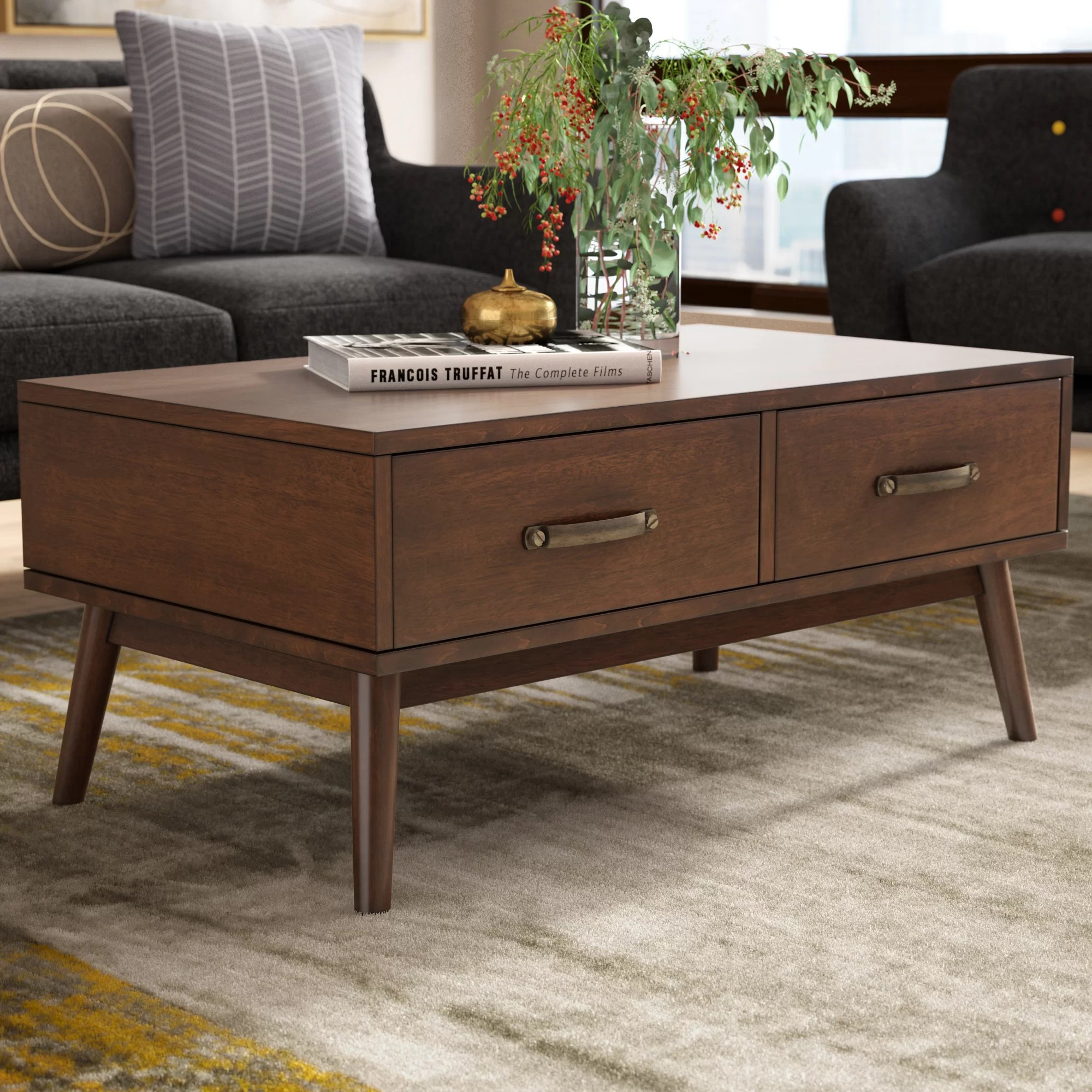 Modern Coffee Table With Storage Ripton Coffee Table