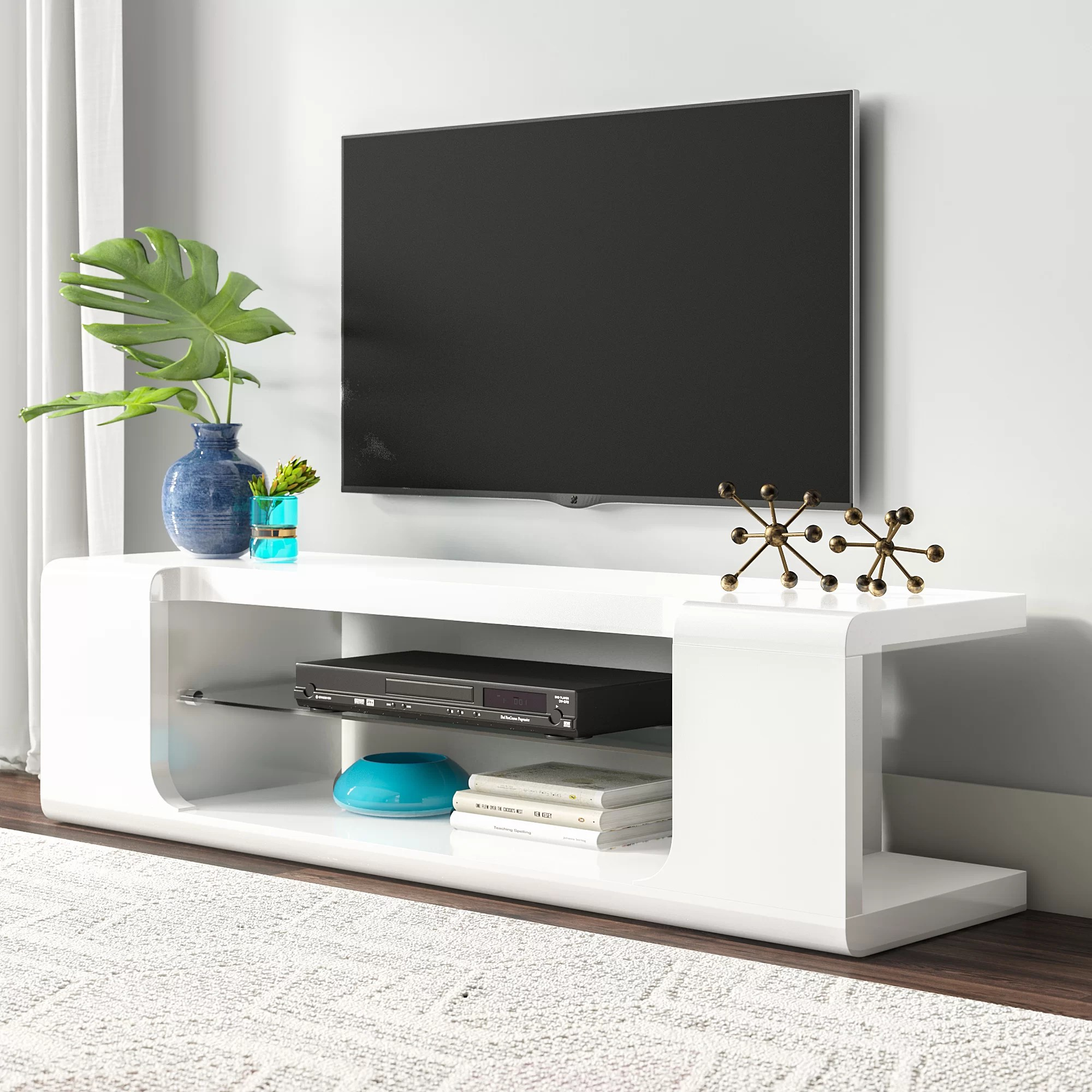 Meuble Tv Moderne Shropshire Tv Stand For Tvs Up To 60