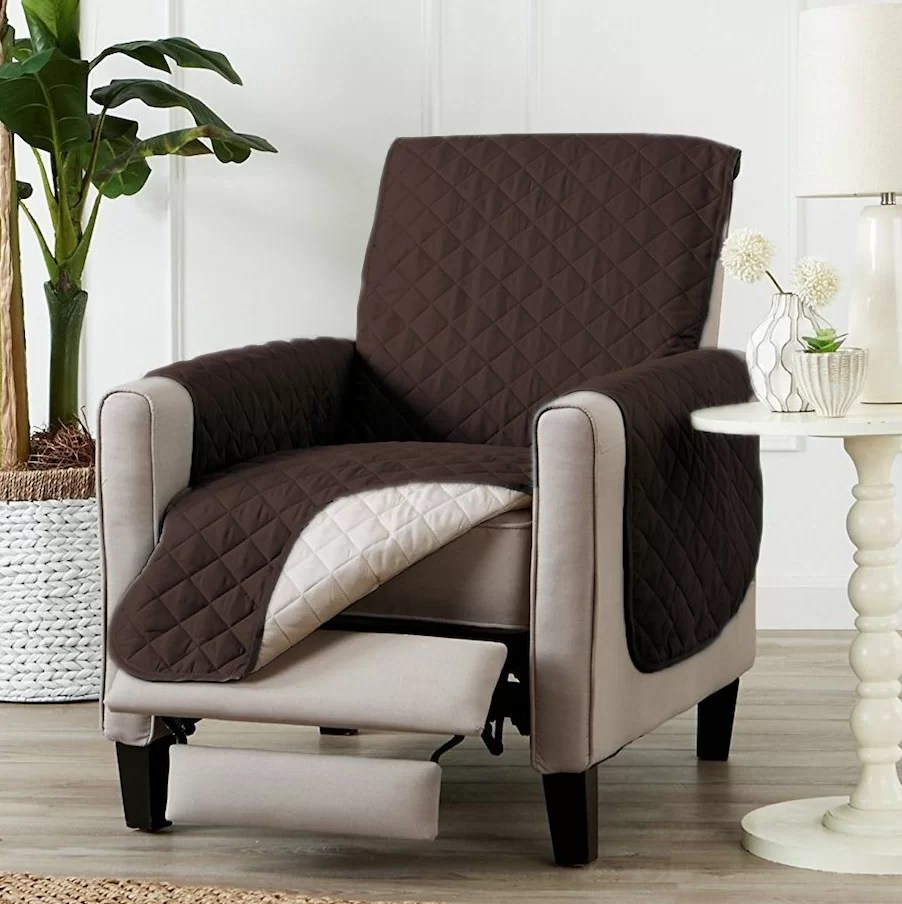 Quilted Lounge Chair Covers Pet Friendly Slipcovers You Ll Love In 2019 Wayfair