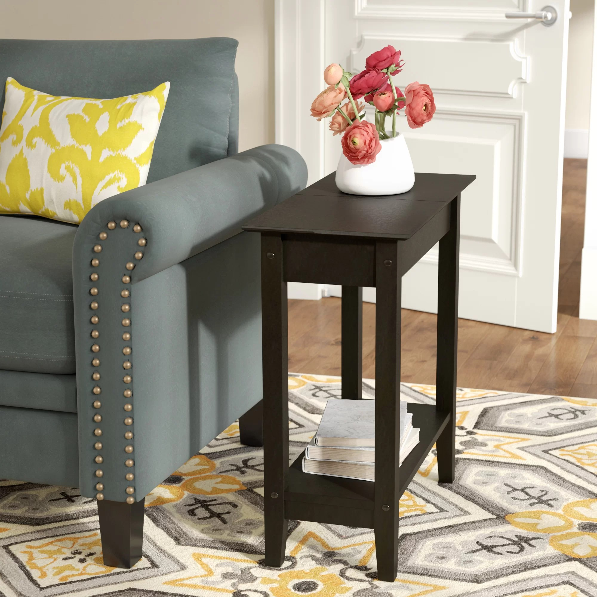End Table For Living Room Haines Flip Top End Table