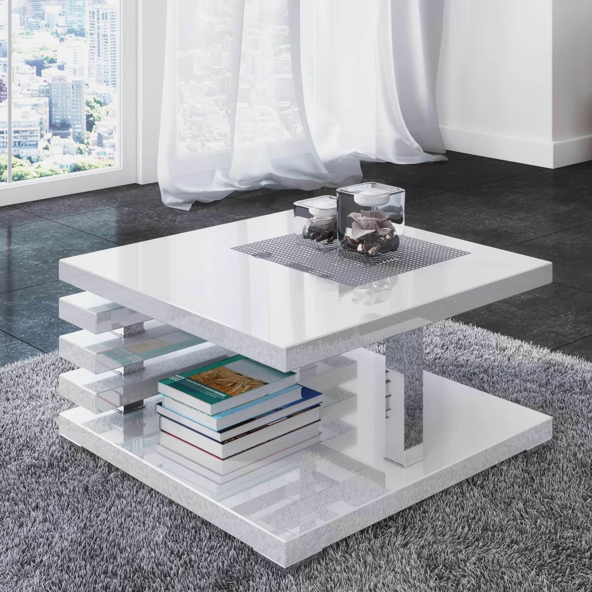 Juri Couchtisch Riley Ave Lola Coffee Table With Storage