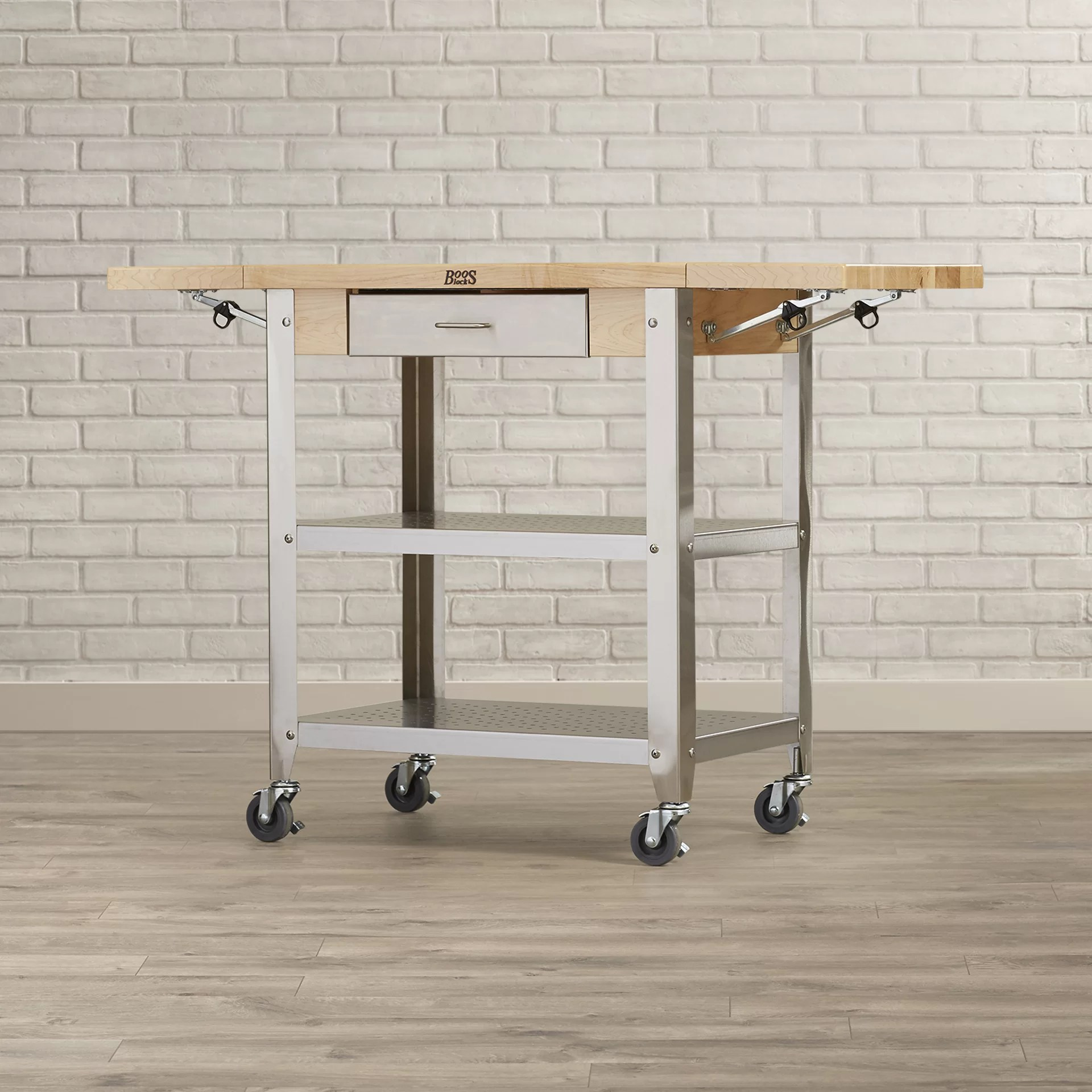 Cucina Americana Foto Cucina Americana Kitchen Cart With Wood Top