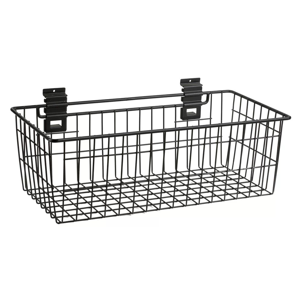 Slat Walls Slat Wall Basket