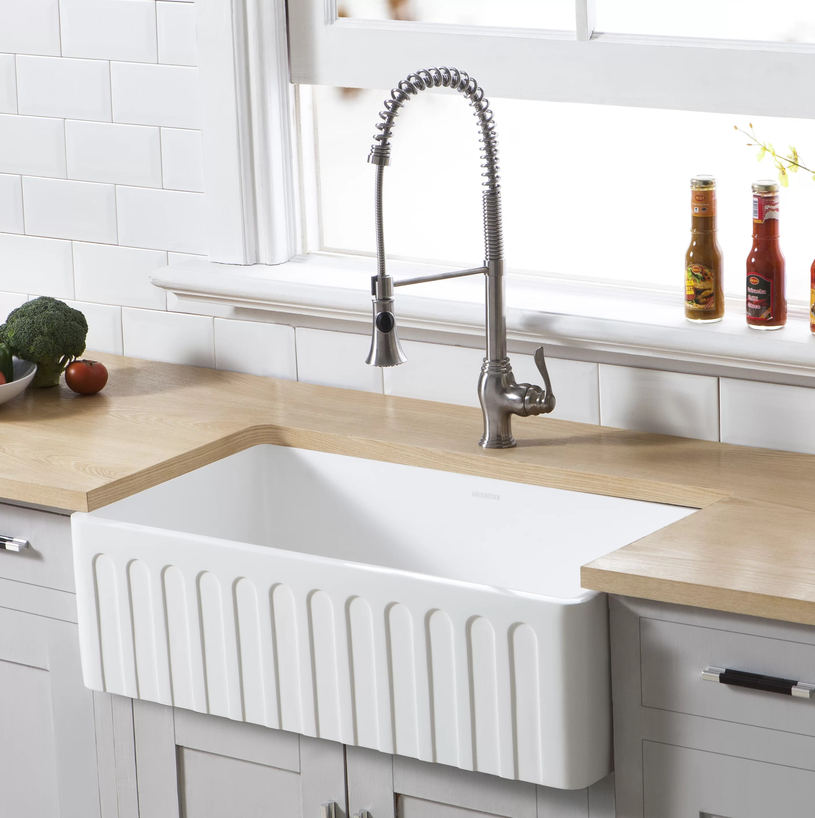 Kitchen Sink For 18 Cabinet Arcticstone Single Bowl 33