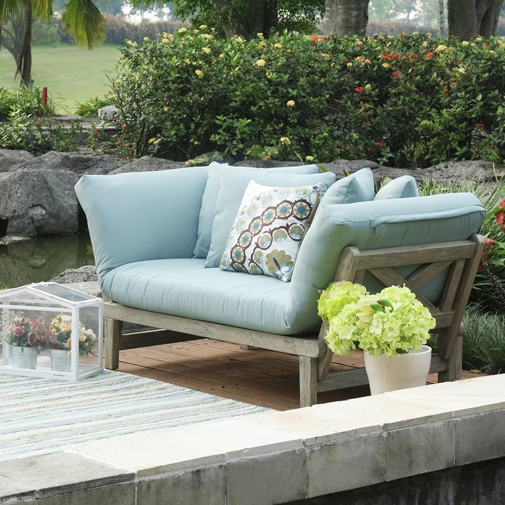 Outdoor Couch Englewood Patio Daybed Sofa With Cushions