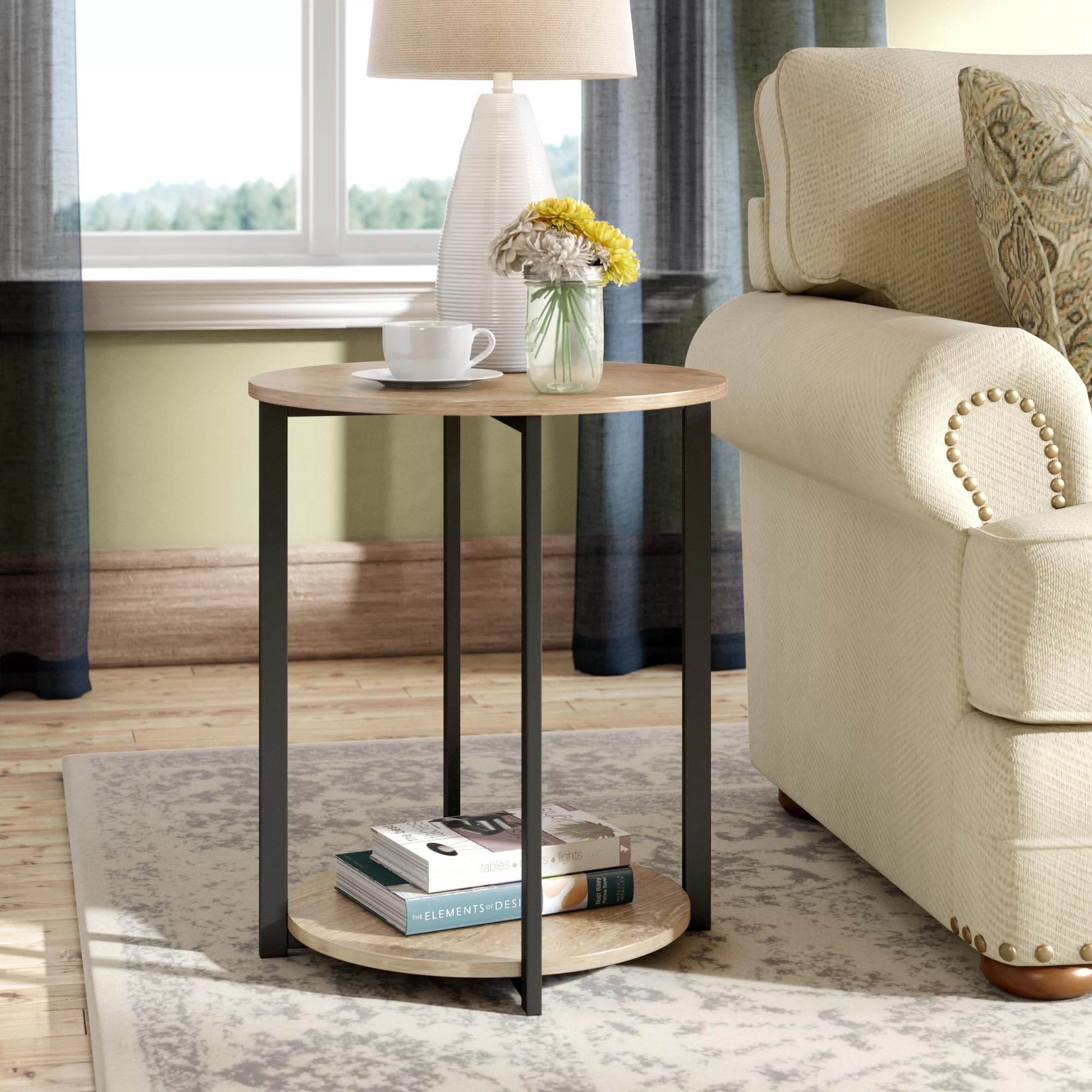 End Table For Living Room Ryanda Low End Table