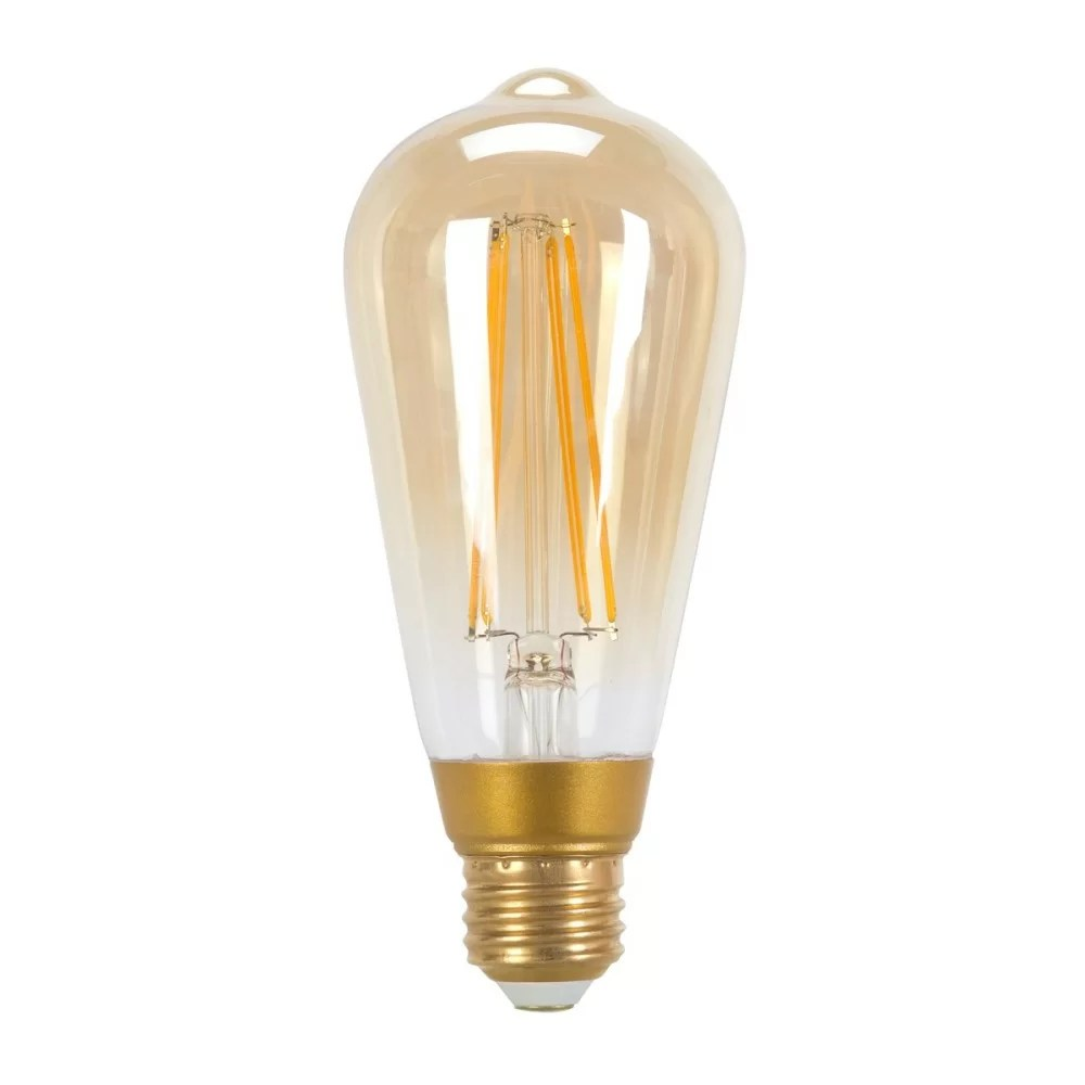 Vintage Led 60w Equivalent St19 Dimmable Warm White 2150k Base