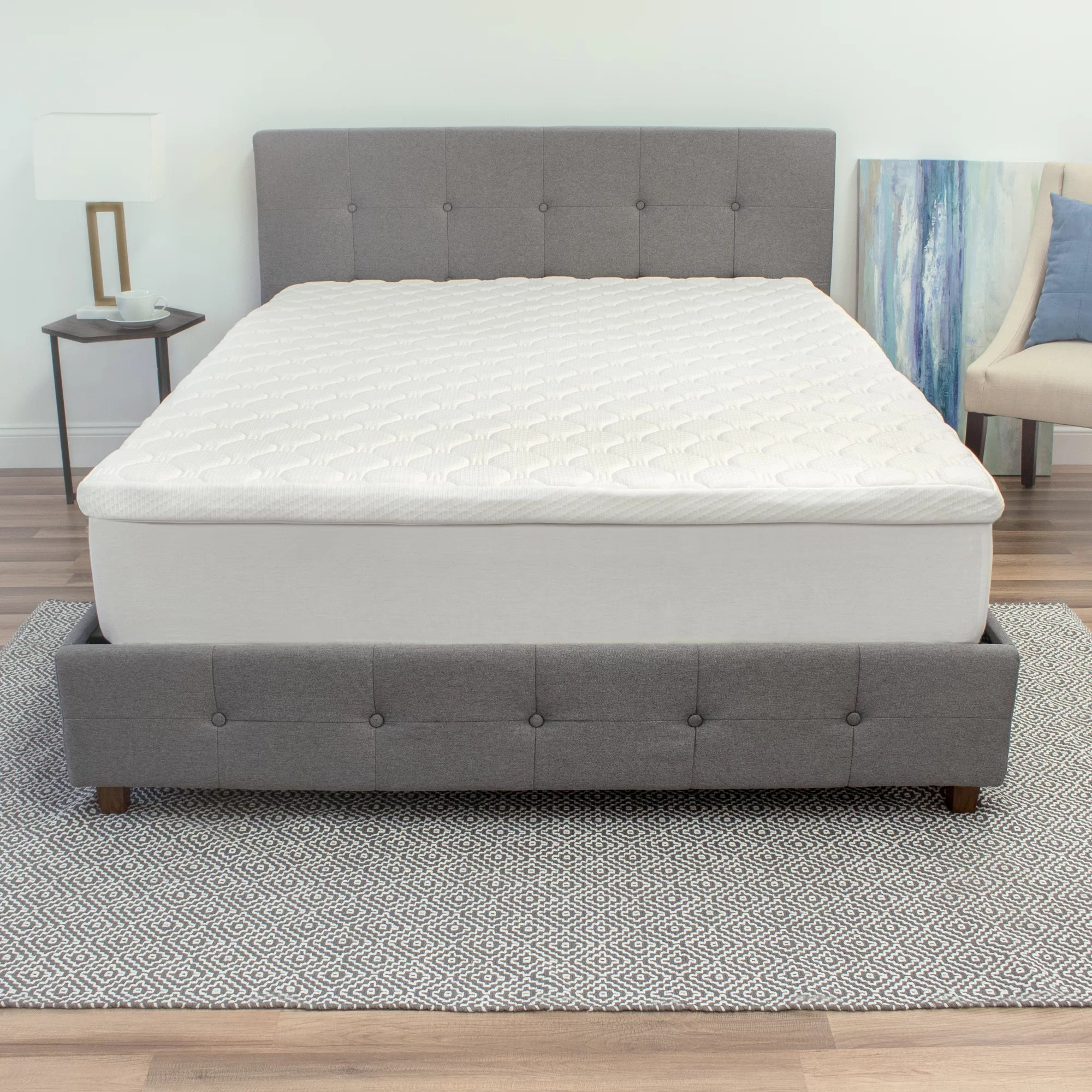 Extra Firm Mattress Topper Gerson 3 5