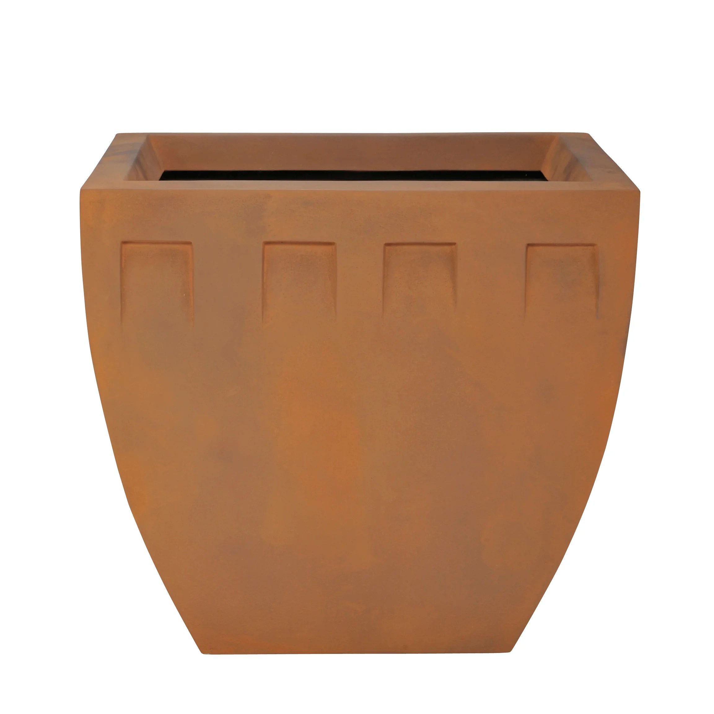 Planter Lys En Pot Concrete Pot Planter