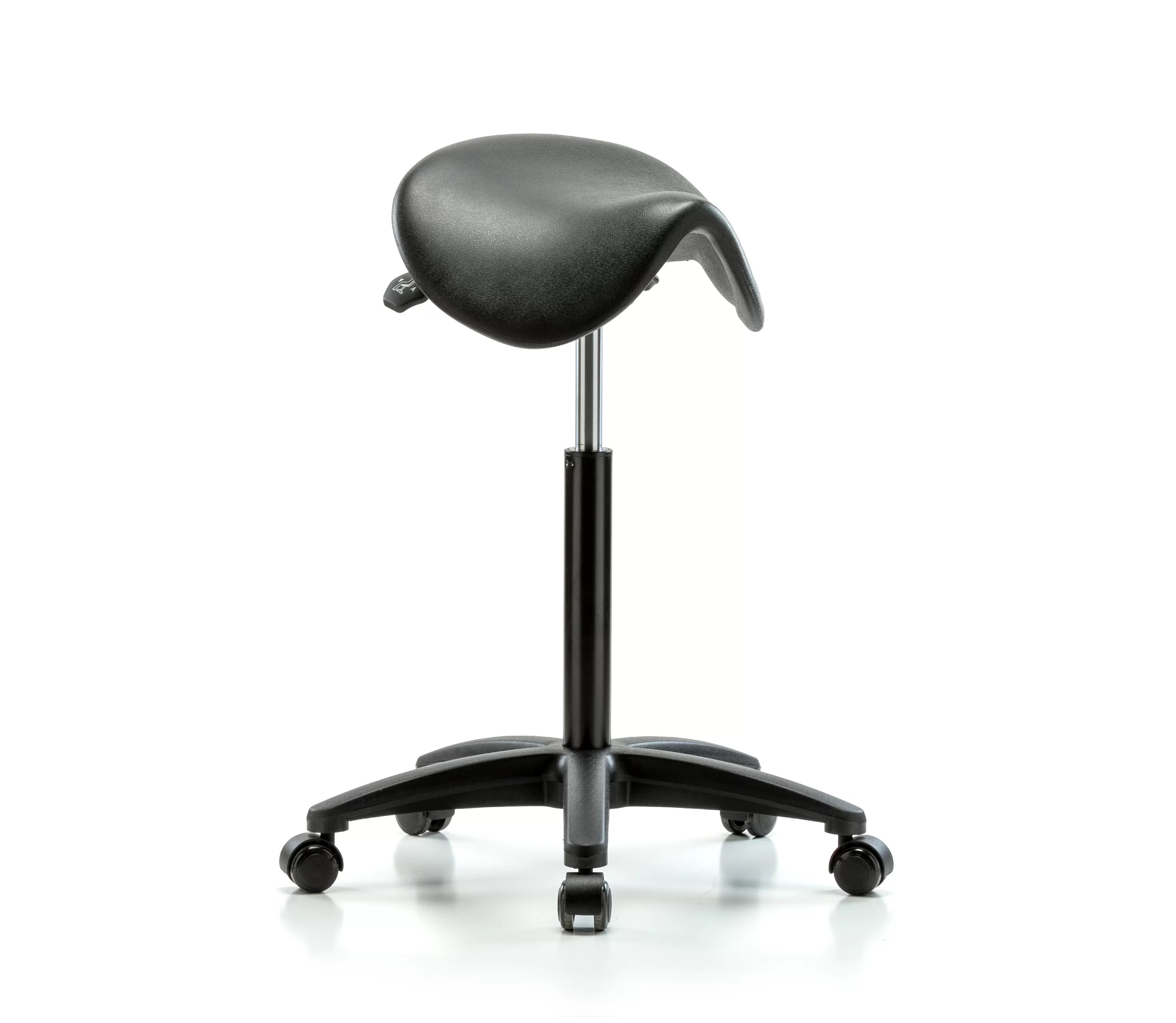 Saddle Office Chair Height Adjustable Saddle Stool With Foot Ring