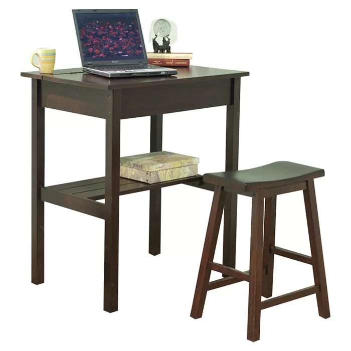 Tms Lincoln Study Writing Desk And Chair Set Reviews