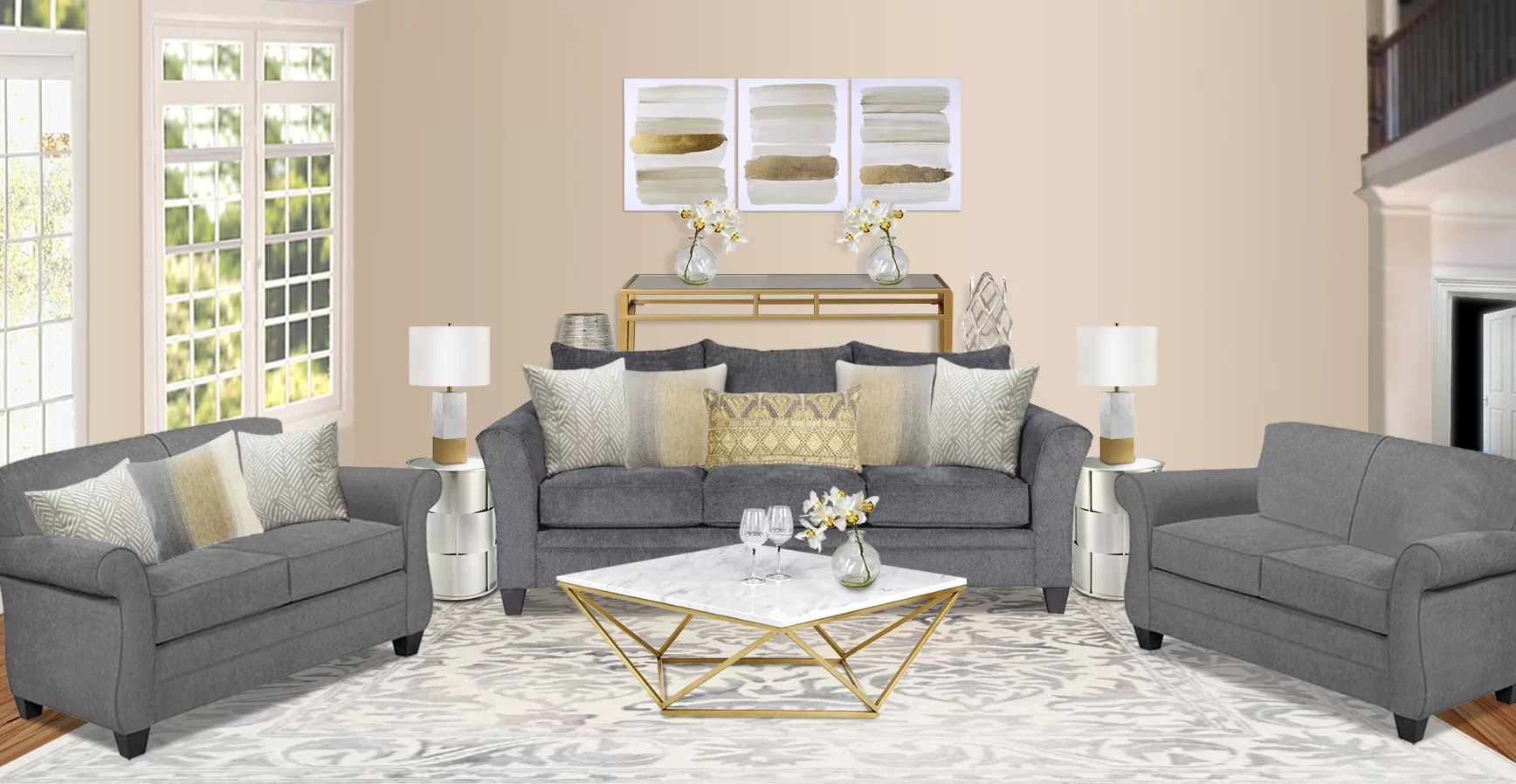 A Living Room Design Wayfair Design Services