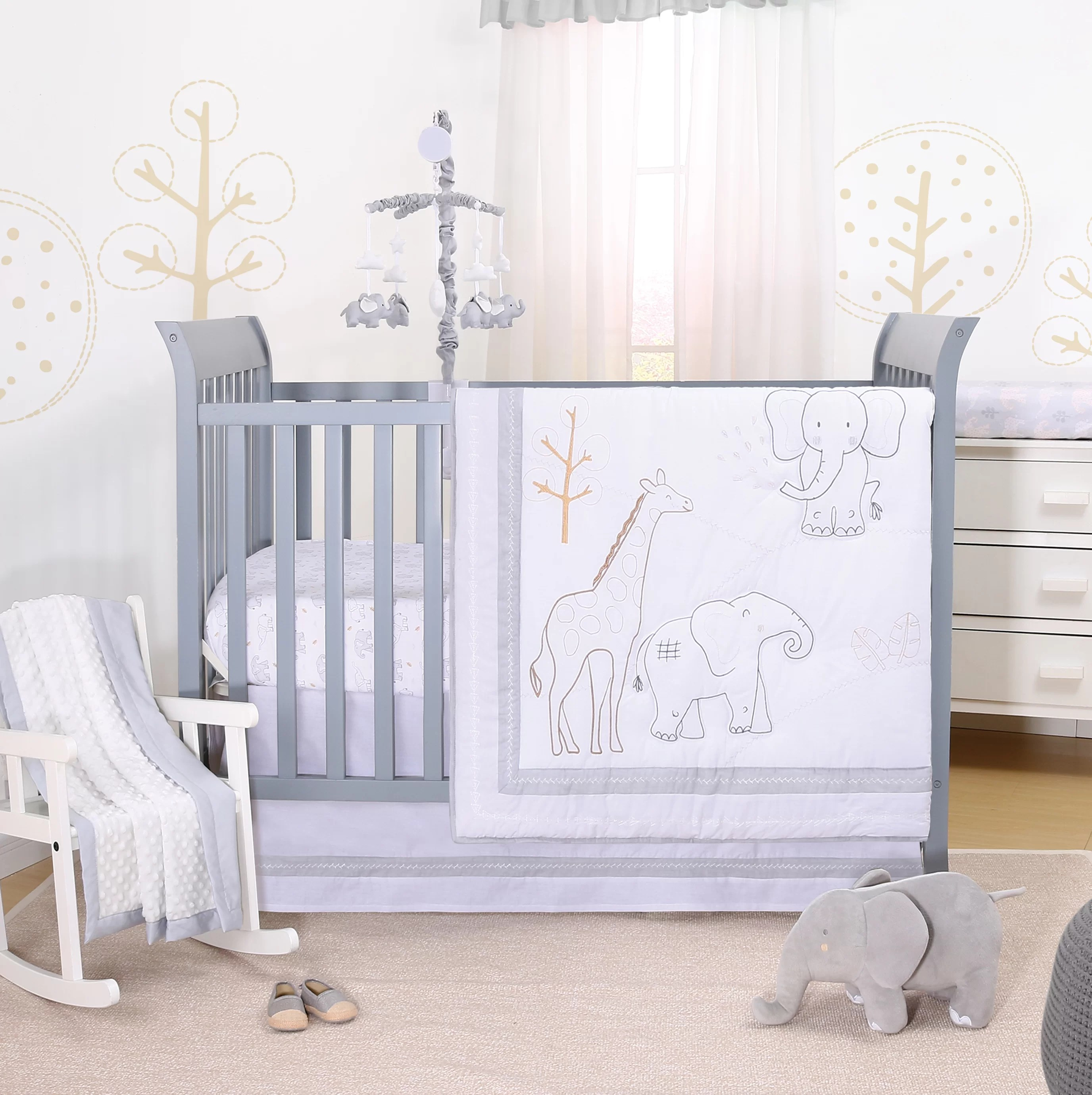 Full Crib Bedding Sets Tons Of Love 3 Piece Crib Bedding Set