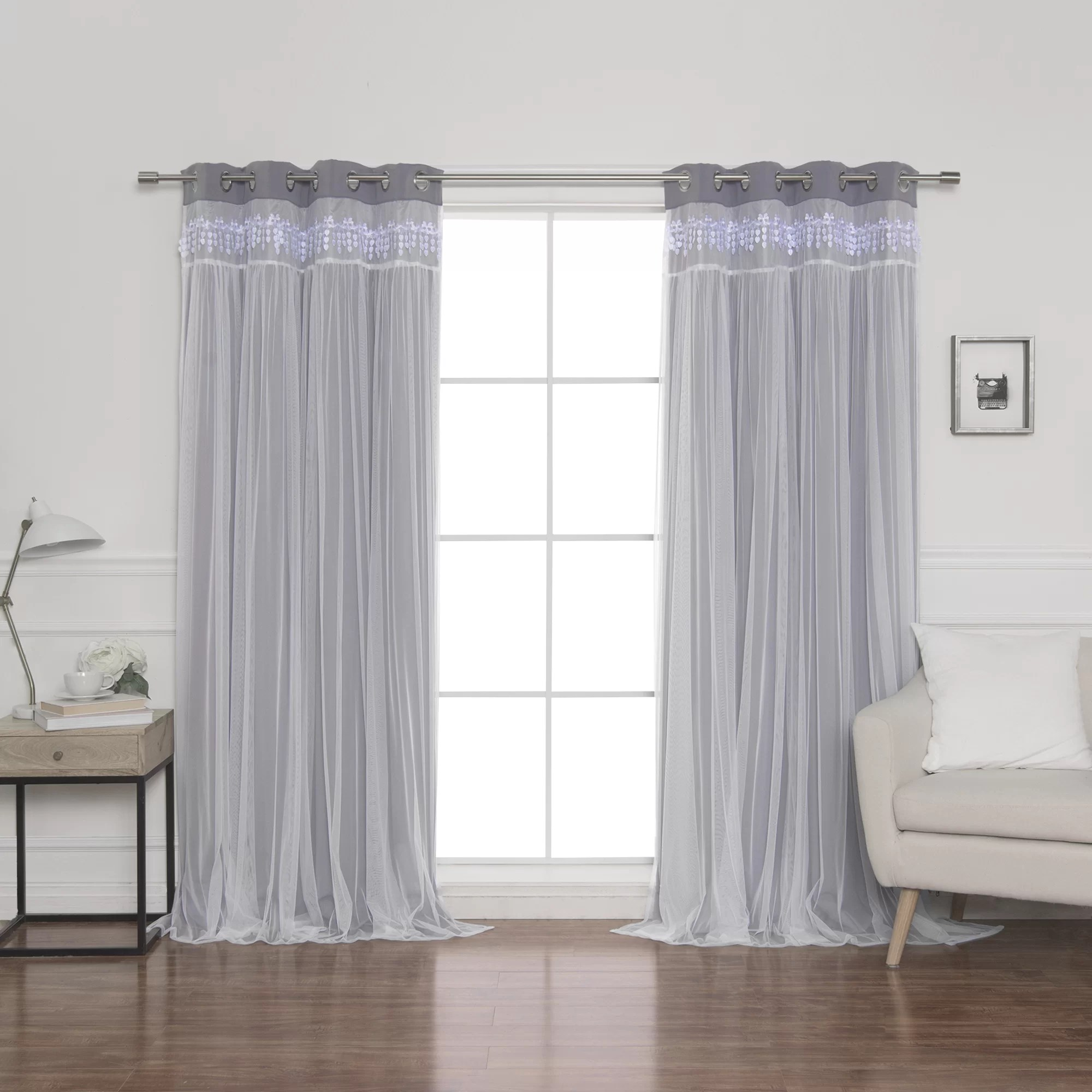 Heavy Thermal Curtains Loar Solid Blackout Thermal Grommet Curtain Panels