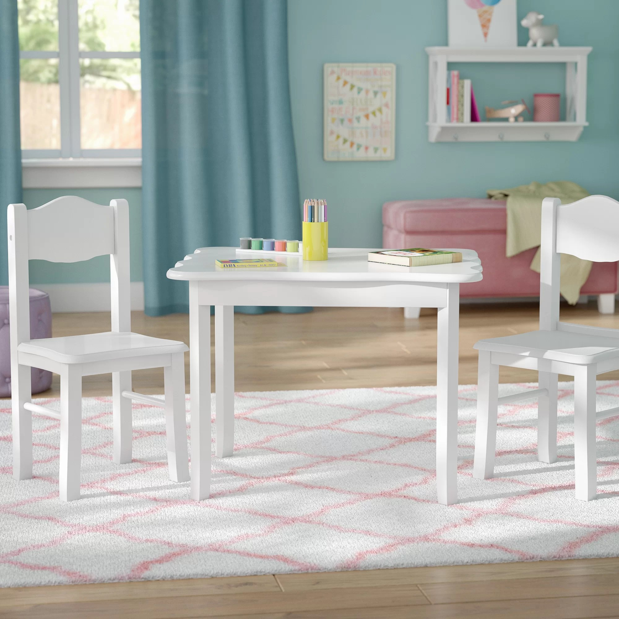 Childrens Table And Chair Set Kids Table And Chairs You Ll Love Wayfair