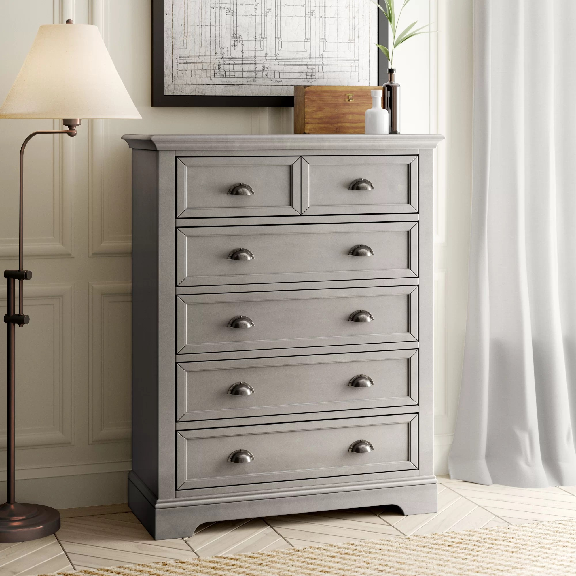 6 Drawer Chest Of Drawers Appleby 6 Drawer Chest