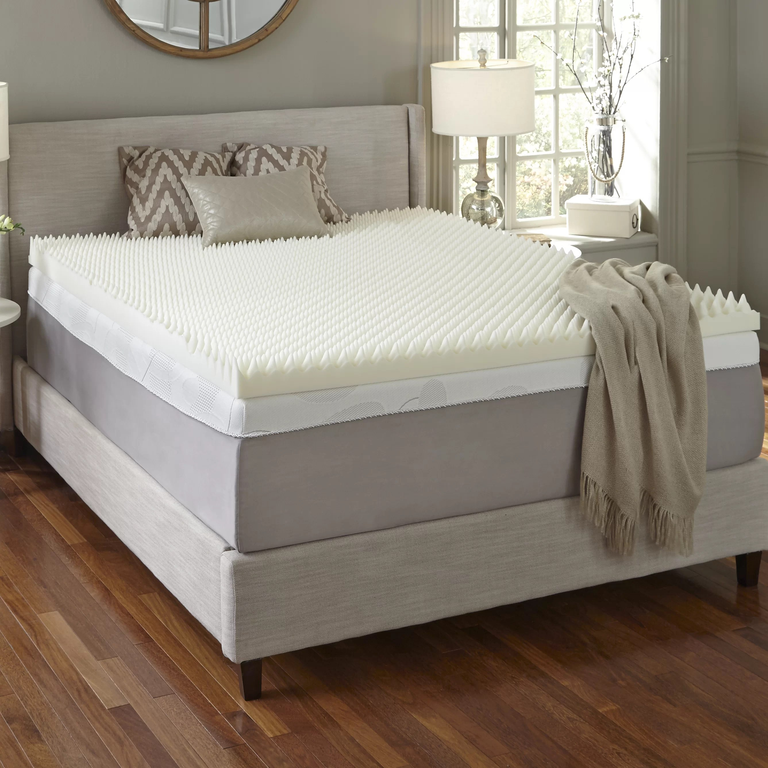 Memory Foam Mattress Toppers 4