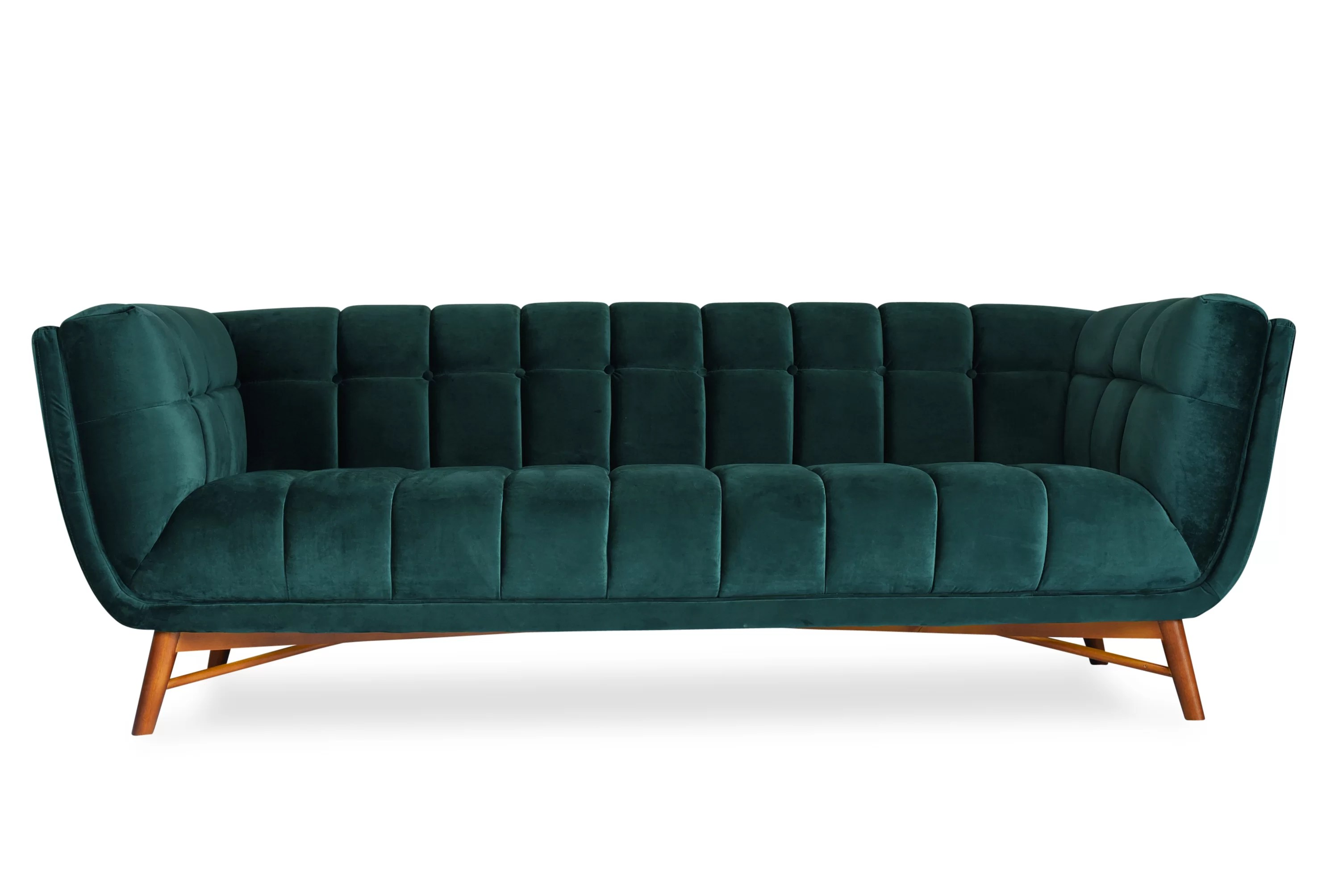 Chesterfield Sofa Online Uk Clarisse Mid Century Modern Chesterfield Sofa