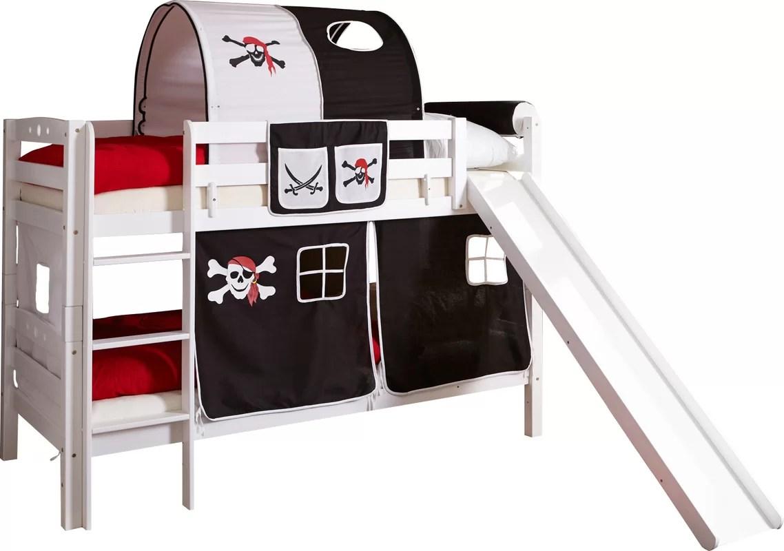 Ticaa Etagenbett Lupo : Ticaa etagenbett hochbett mit rutsche pirat