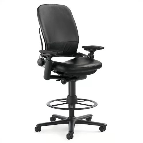 Steelcase Leapr High Back Leather Drafting Chair Reviews