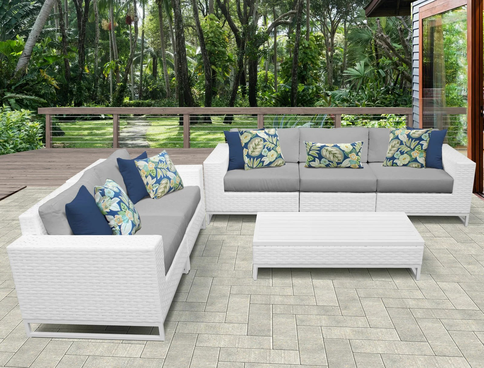 Sofa Palette Miami 6 Piece Sofa Seating Group With Cushions