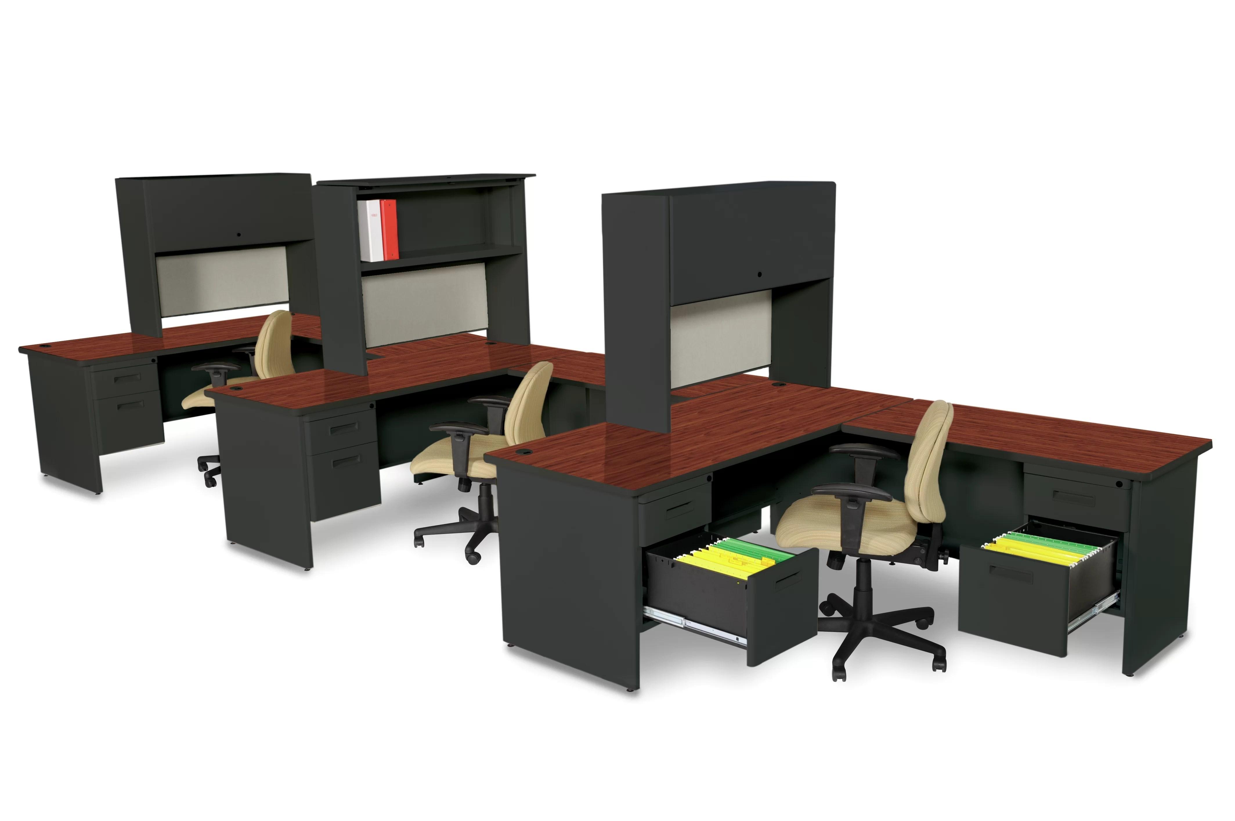 Bureau de direction acajou dimenson caisson à tiroir bureau ecosia