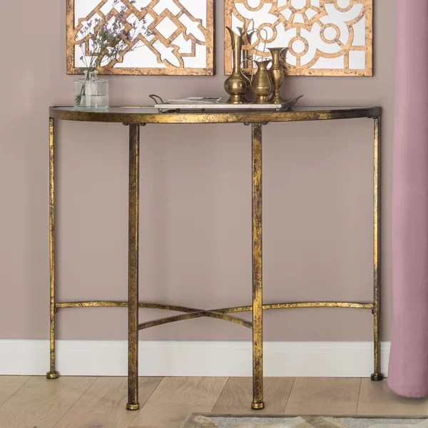 Park Lighting Floor Lamps Fairmont Park Keaton Console Table & Reviews | Wayfair.co.uk