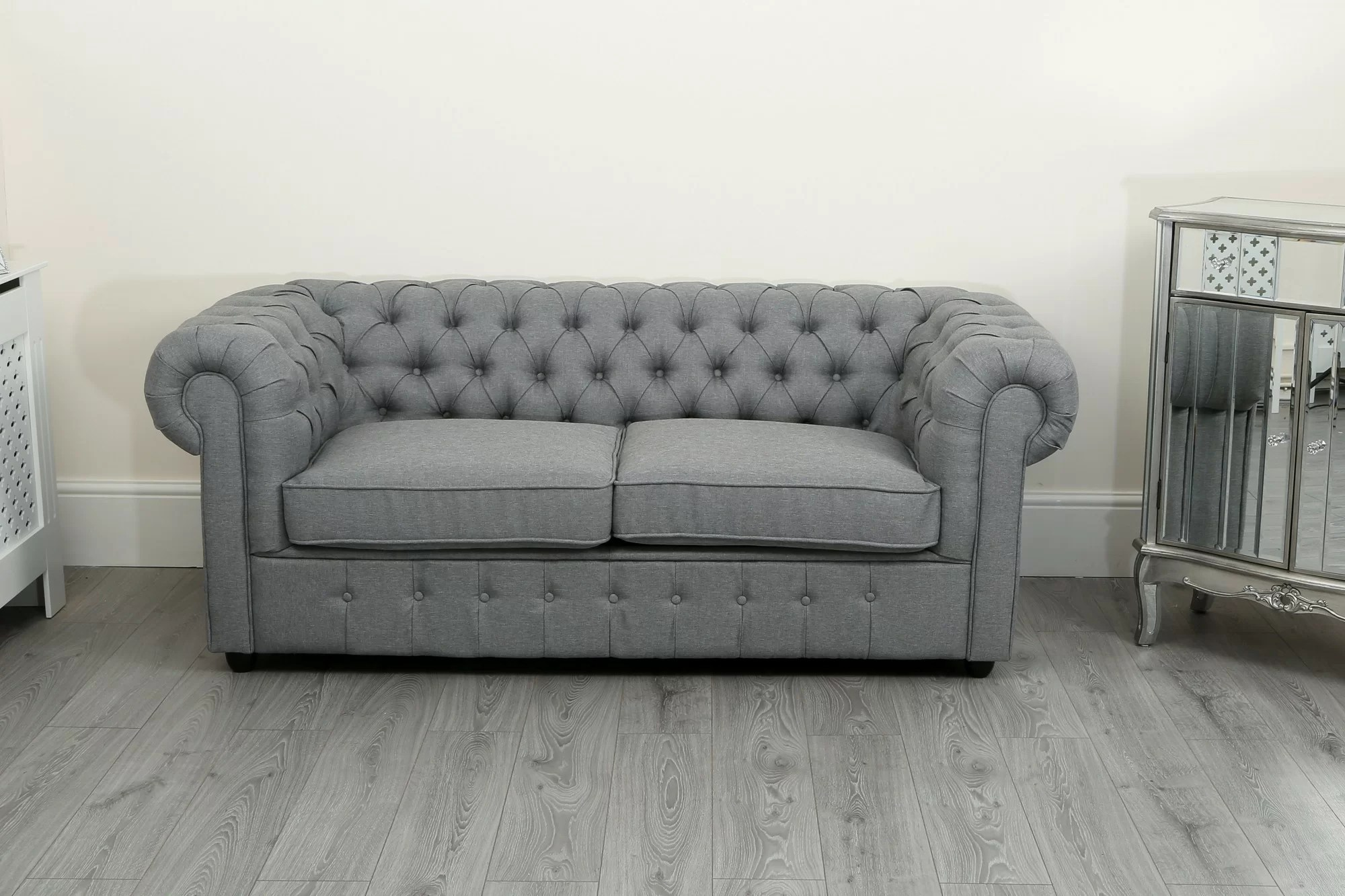 Chesterfield Sofa Online Uk Dunston 2 Seater Chesterfield Sofa
