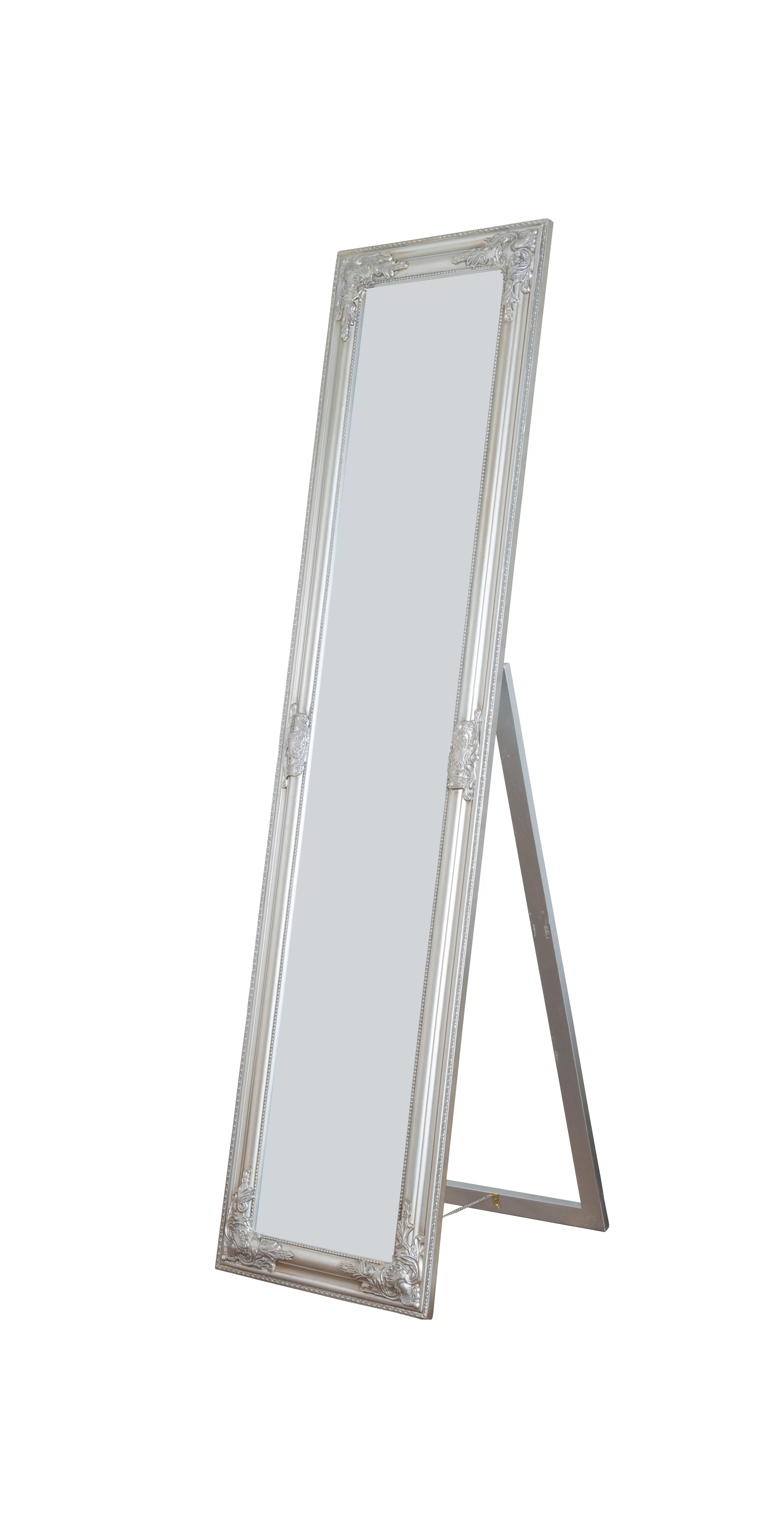 Standing Mirror Rectangle Cheval Standing Wall Mirror