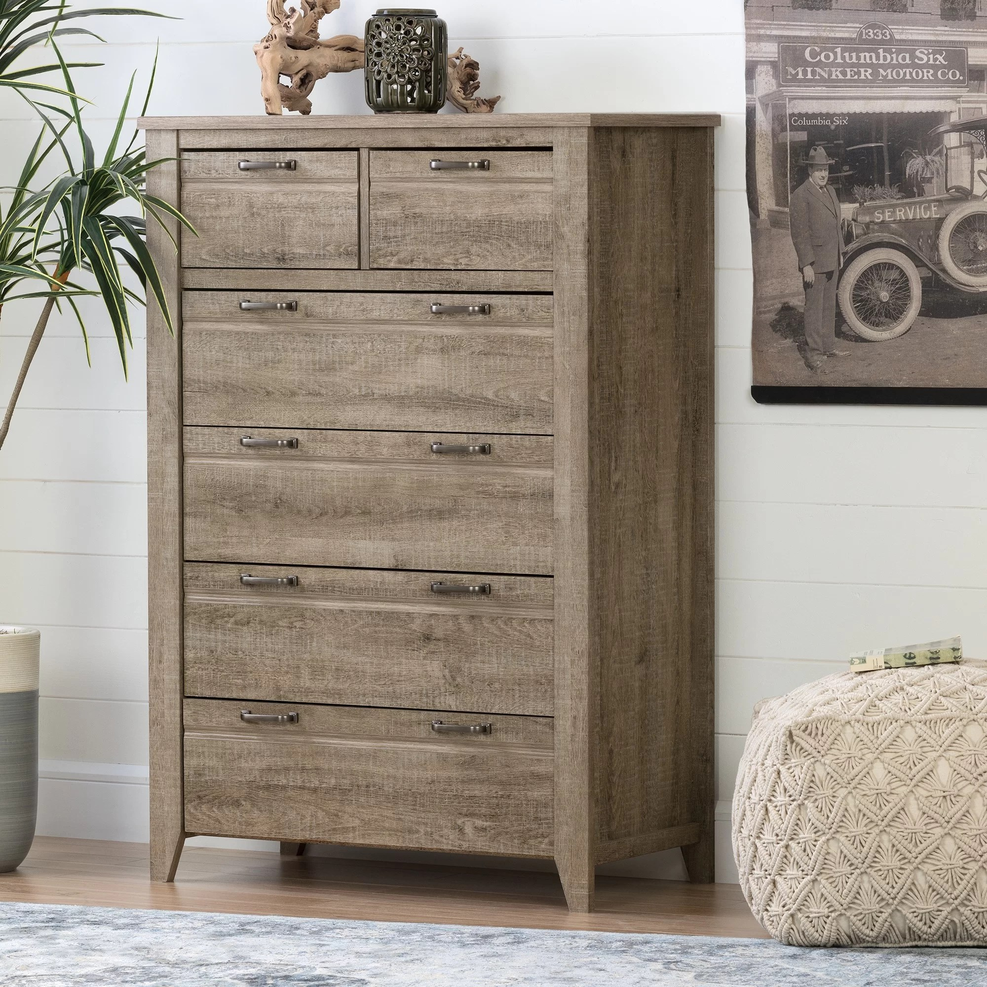6 Drawer Chest Of Drawers Lionel 6 Drawer Chest