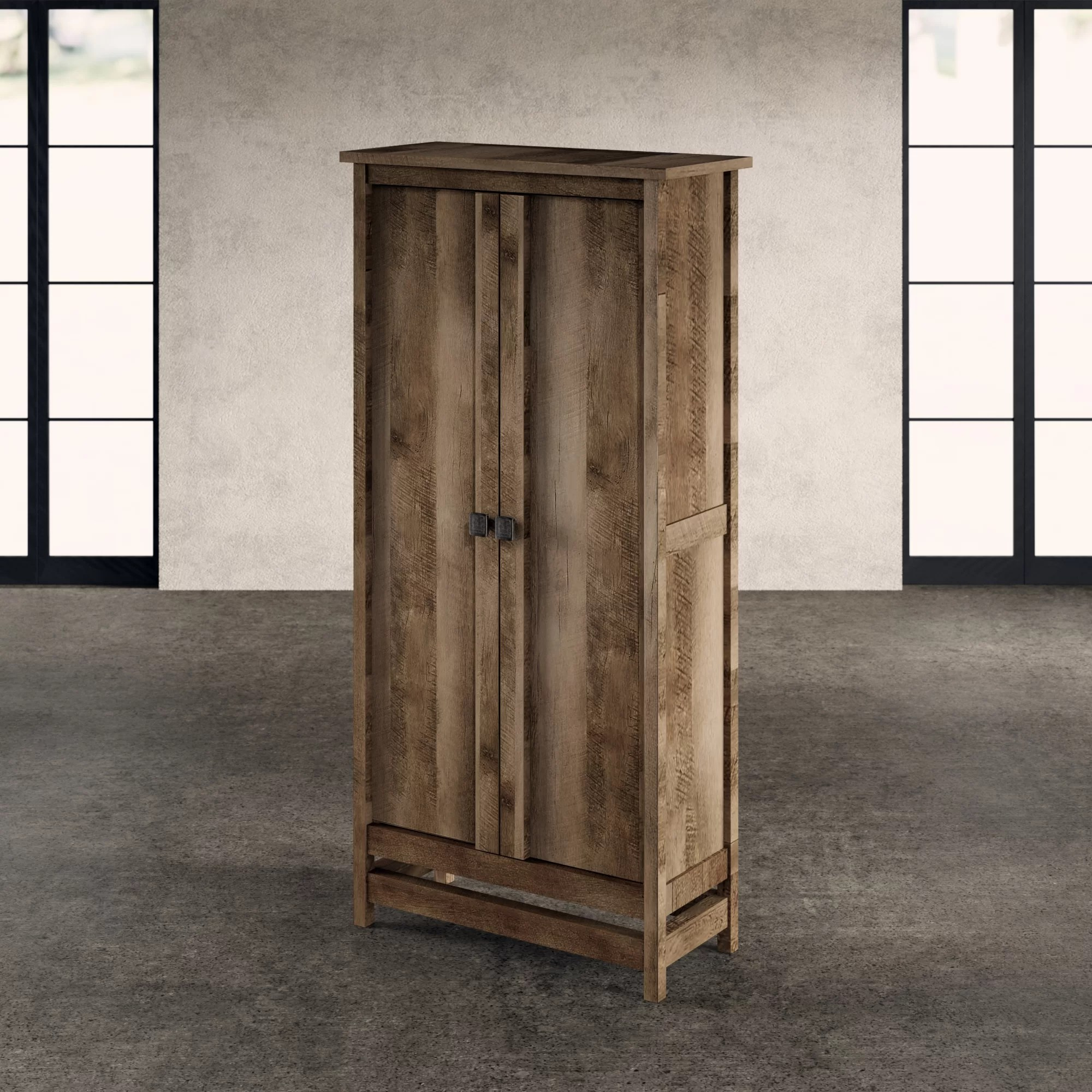 Storage Closet Ringgold 2 Door Storage Cabinet
