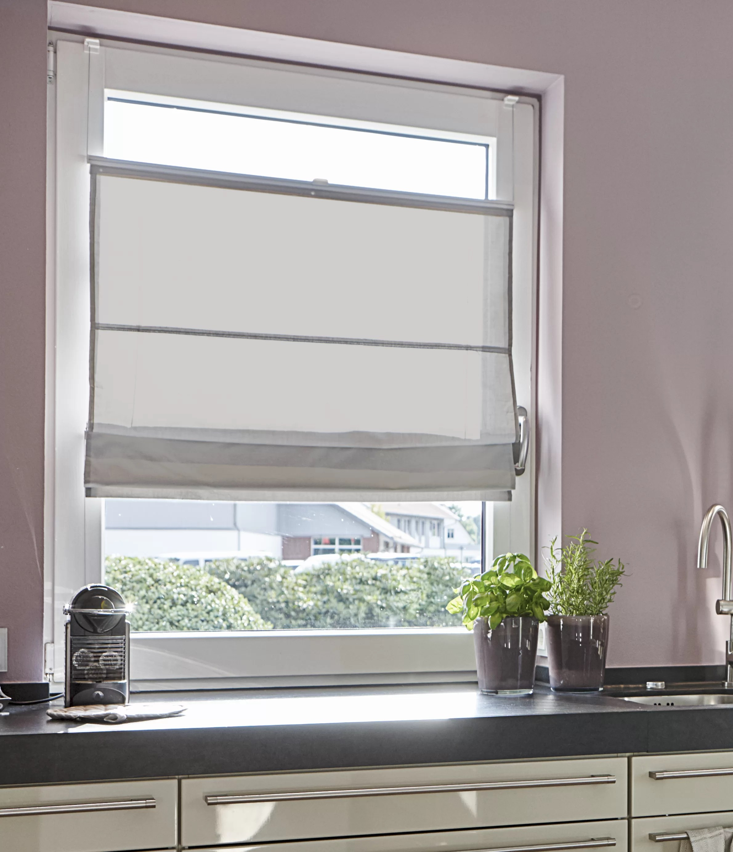 Raffrollo Klemmfix Klemmfix Top Roman Blinds