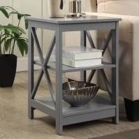 Grey End & Side Tables You'll Love   Wayfair
