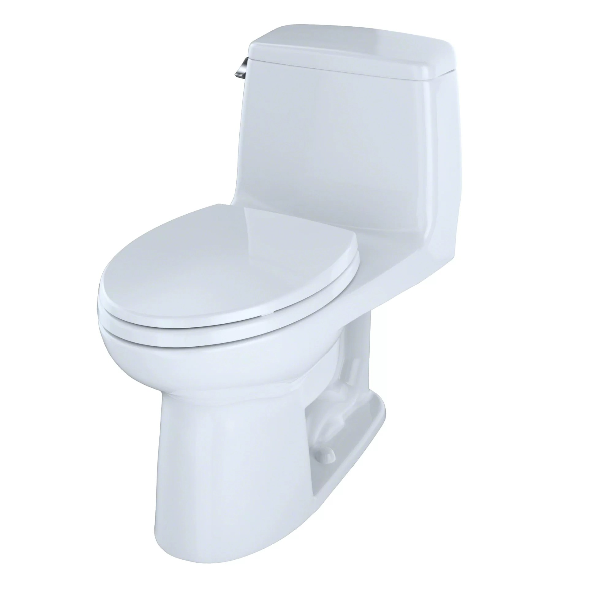 Toilette Toto Ultimate Power Gravity Low Consumption 1 6 Gpf Elongated One Piece Toilet Seat Included