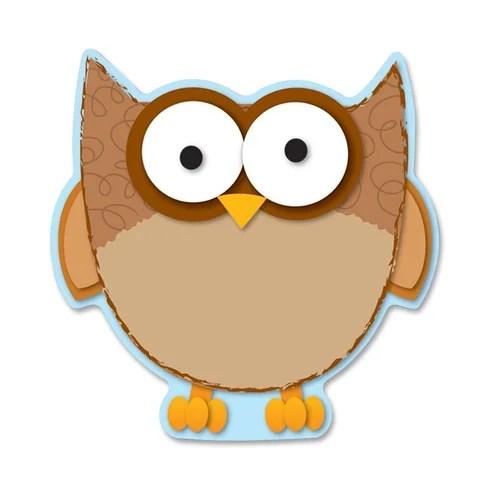 CARSON-DELLOSA PUBLISHING Owl Die-Cut Shapes Bulletin Board Cut Out